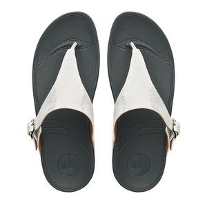2f323e28707a Fitflop Shoes - FitFlop Skinny Deluxe Sandal Silver size 7